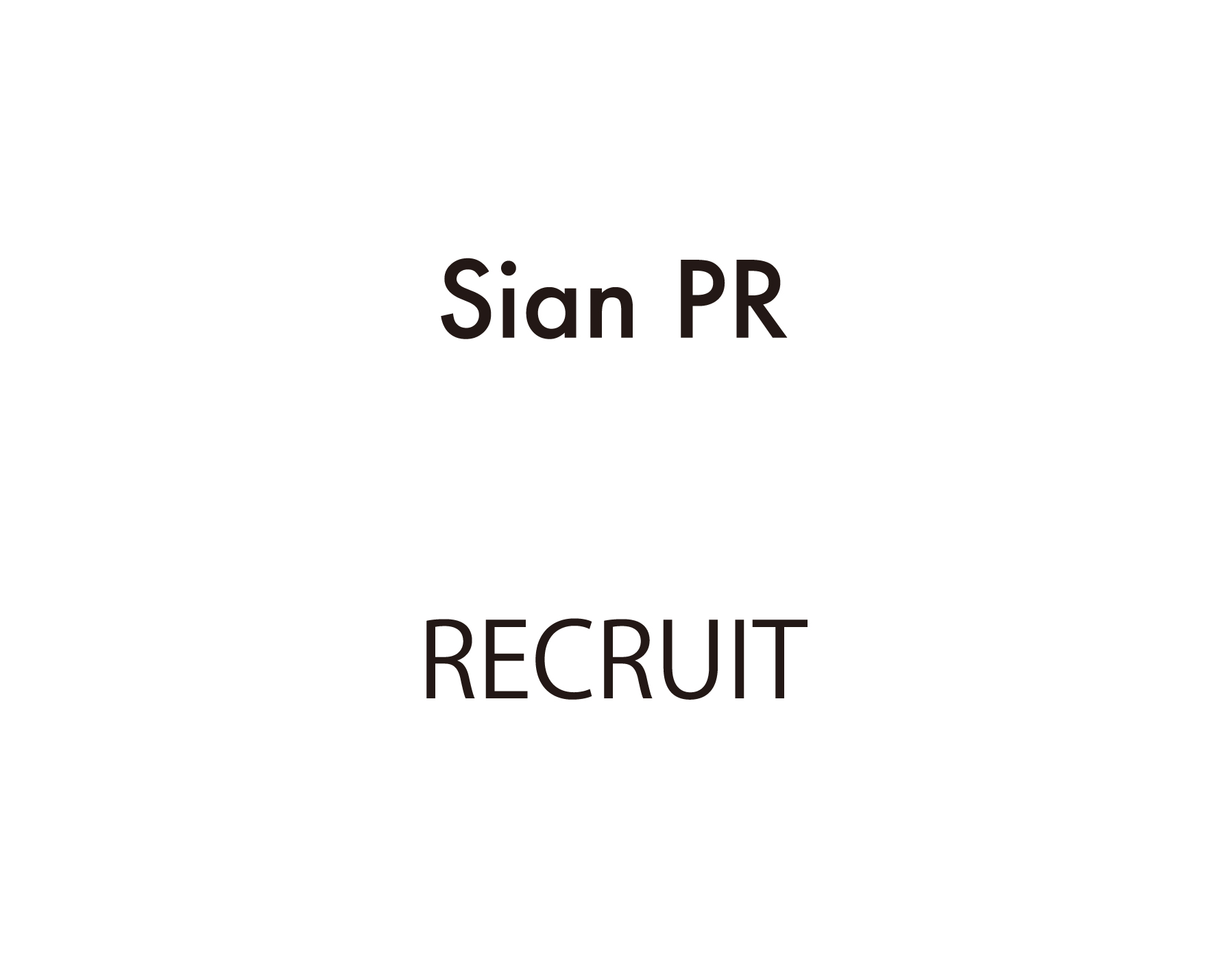 STAFF RECRUIT